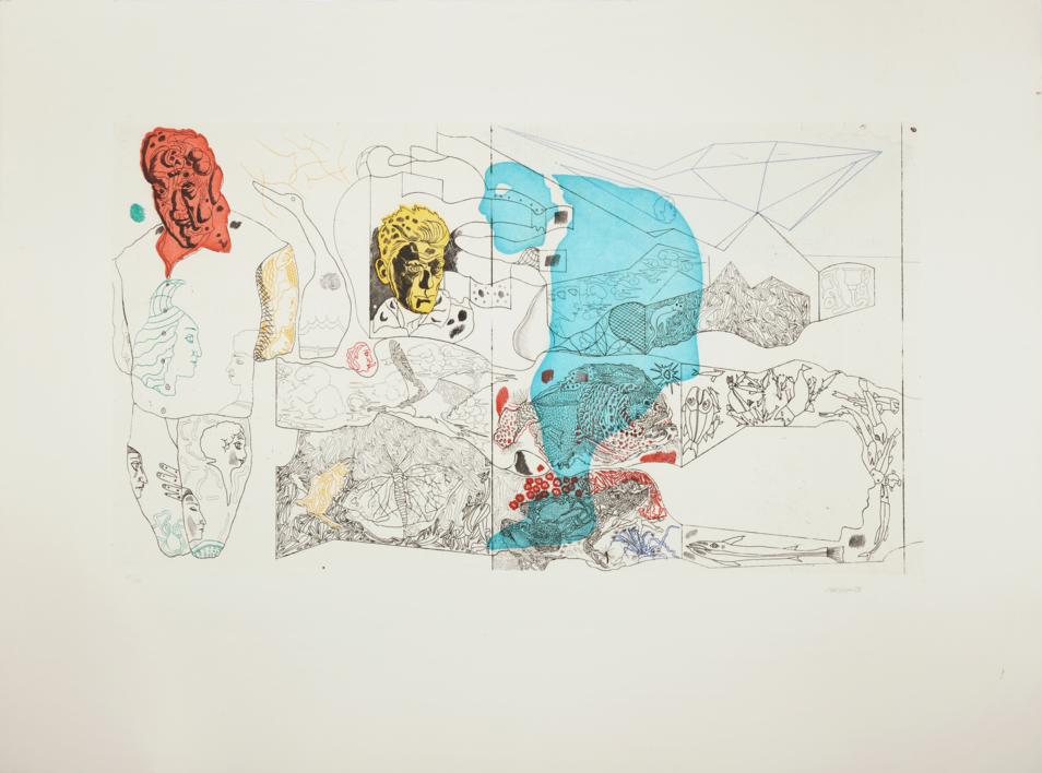 El Jardinero |Obra gráfica de Jorge Castillo | Compra arte en Flecha.es