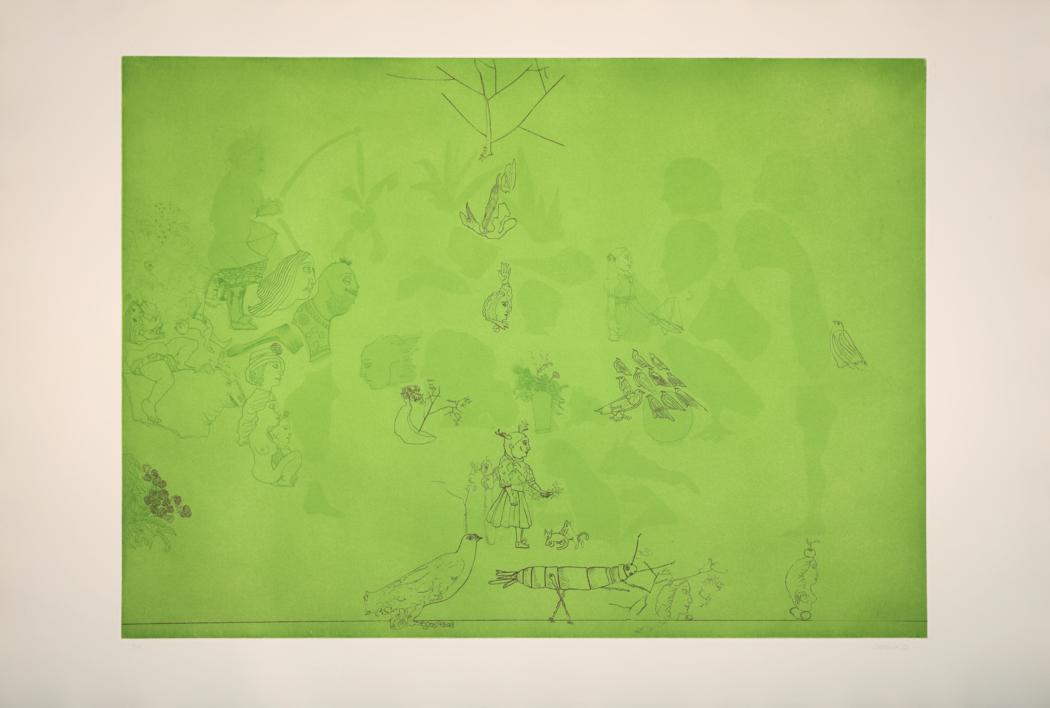 Siluetas |Obra gráfica de Jorge Castillo | Compra arte en Flecha.es