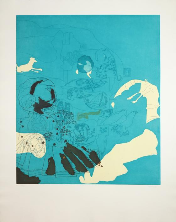 Marienza |Obra gráfica de Jorge Castillo | Compra arte en Flecha.es
