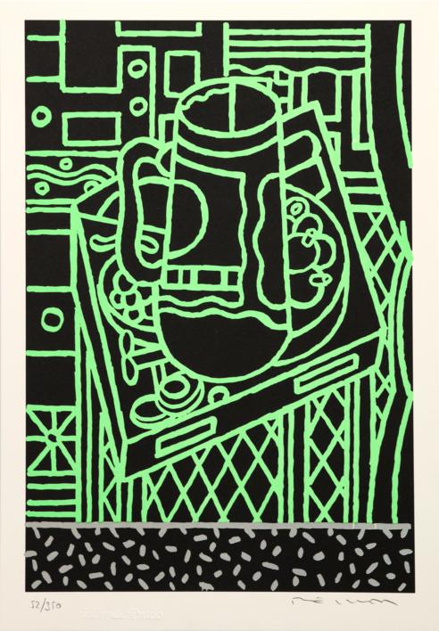 Sin título |Obra gráfica de Fernando Bellver | Compra arte en Flecha.es