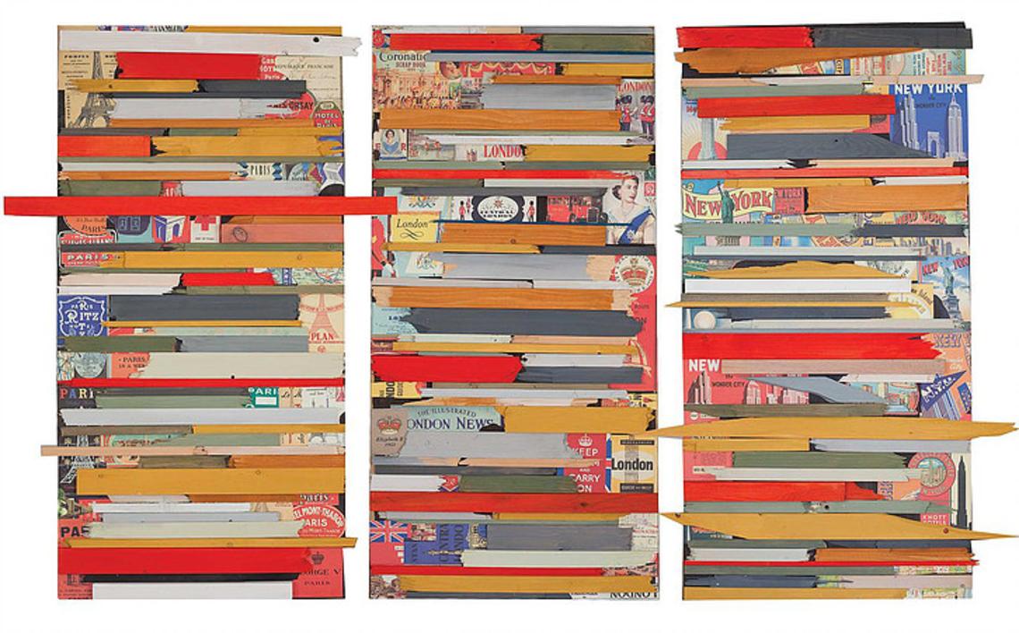 New York, London, Paris |Collage de Marina Muñoz Viada | Compra arte en Flecha.es
