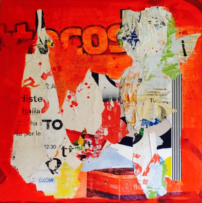 Red Public |Collage de Marina Muñoz Viada | Compra arte en Flecha.es