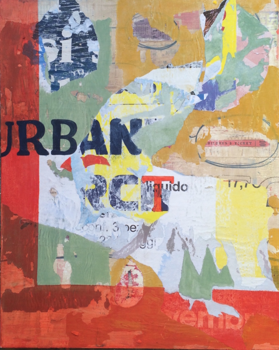 Urban |Collage de Marina Muñoz Viada | Compra arte en Flecha.es