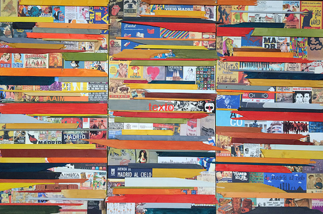 My Madrid |Collage de Marina Muñoz Viada | Compra arte en Flecha.es