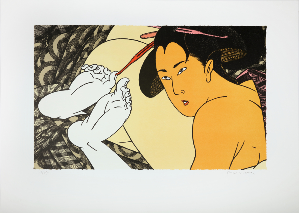 Geishas |Obra gráfica de Fernando Bellver | Compra arte en Flecha.es