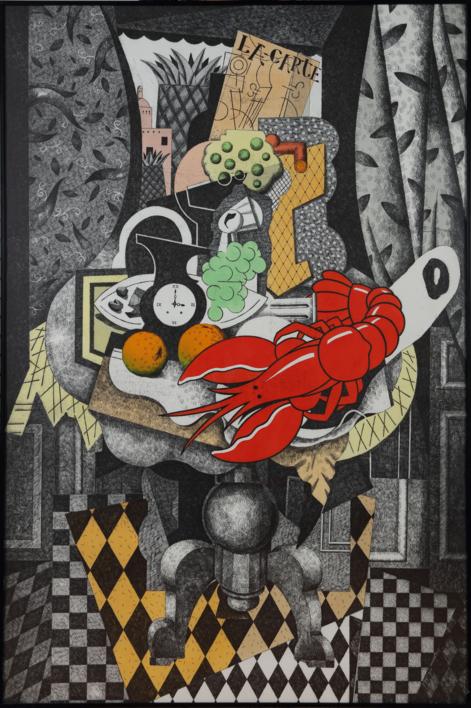 Hotel Cosmopole. Alejandría. |Obra gráfica de Fernando Bellver | Compra arte en Flecha.es