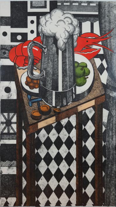 Caña |Obra gráfica de Fernando Bellver | Compra arte en Flecha.es