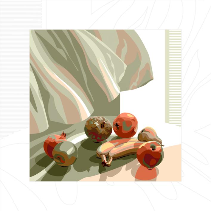 La cortina |Digital de Beatriz Ujados | Compra arte en Flecha.es