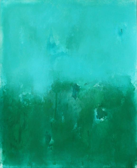 Sky and field II |Pintura de Luis Medina | Compra arte en Flecha.es