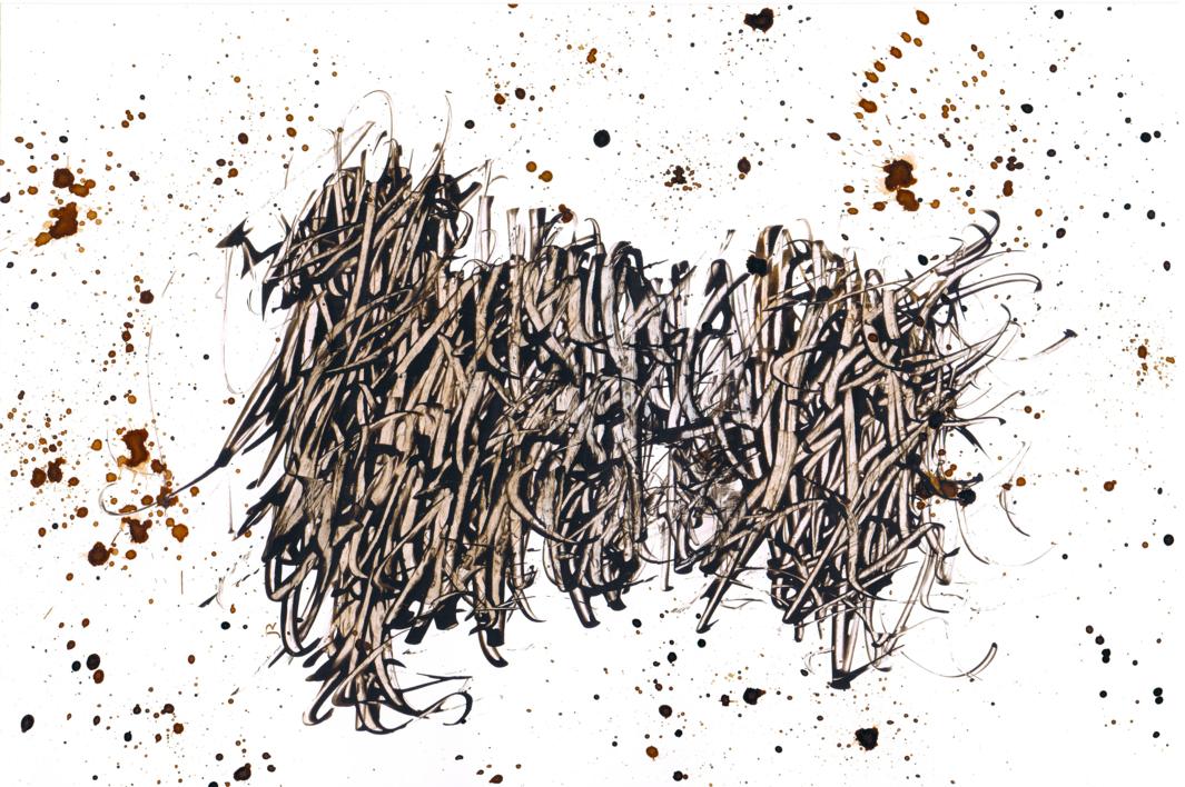 La Maraña |Dibujo de Jorge Regueira | Compra arte en Flecha.es