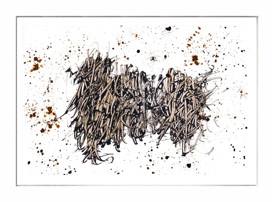 La Maraña | Dibujo de Jorge Regueira | Compra arte en Flecha.es