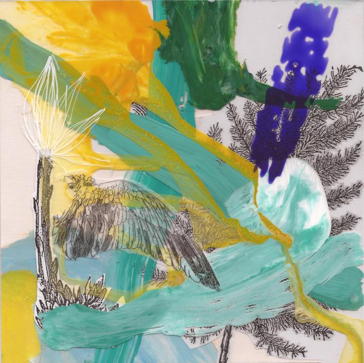Viento cálido |Collage de Myriam Toledo | Compra arte en Flecha.es
