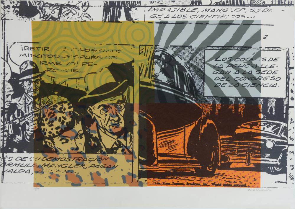 Comic (II) |Obra gráfica de Fernando Bellver | Compra arte en Flecha.es