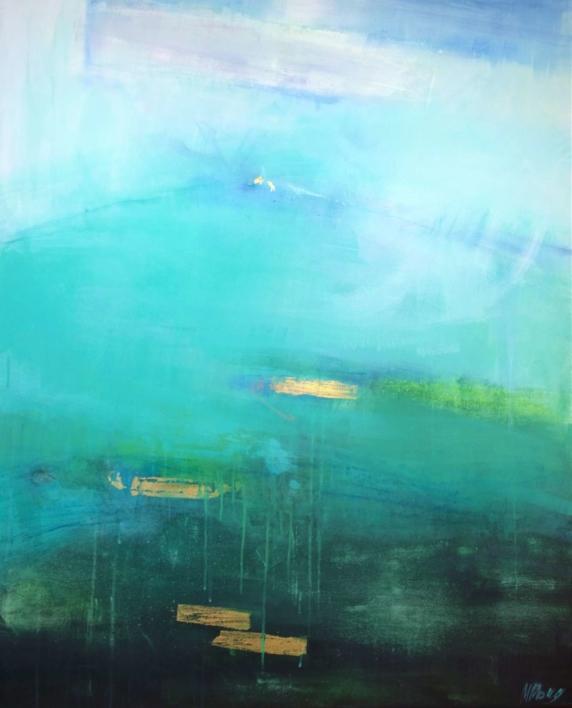 Transition: Water |Pintura de Magdalena Morey | Compra arte en Flecha.es