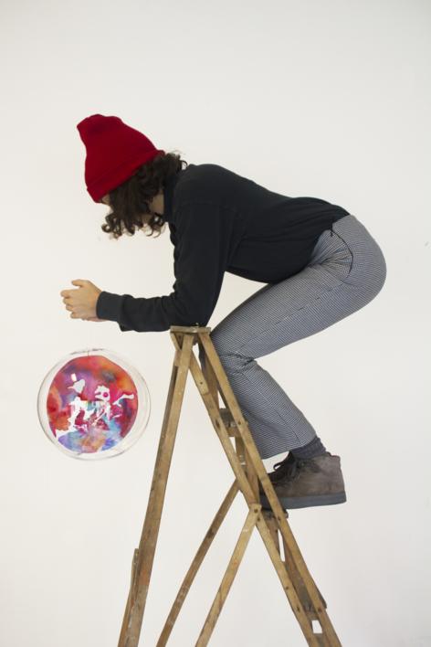 Medium Planeta III |Escultura de Violeta Maya McGuire | Compra arte en Flecha.es