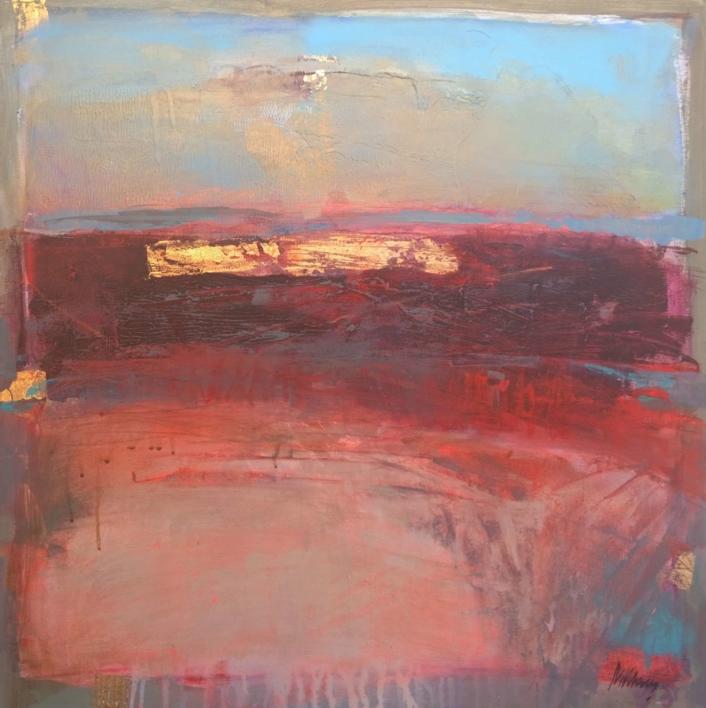 Evening Glow |Pintura de Magdalena Morey | Compra arte en Flecha.es