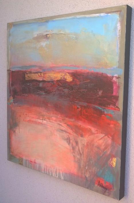 Evening Glow | Pintura de Magdalena Morey | Compra arte en Flecha.es
