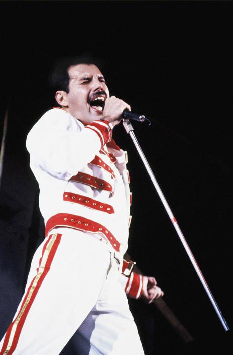 Queen  en concierto  Fotografía de Domingo J. Casas   Compra arte en Flecha.es