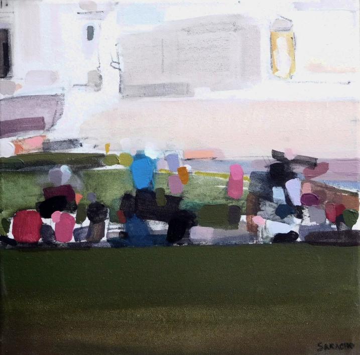 Piazza Aracoeli |Pintura de Saracho | Compra arte en Flecha.es