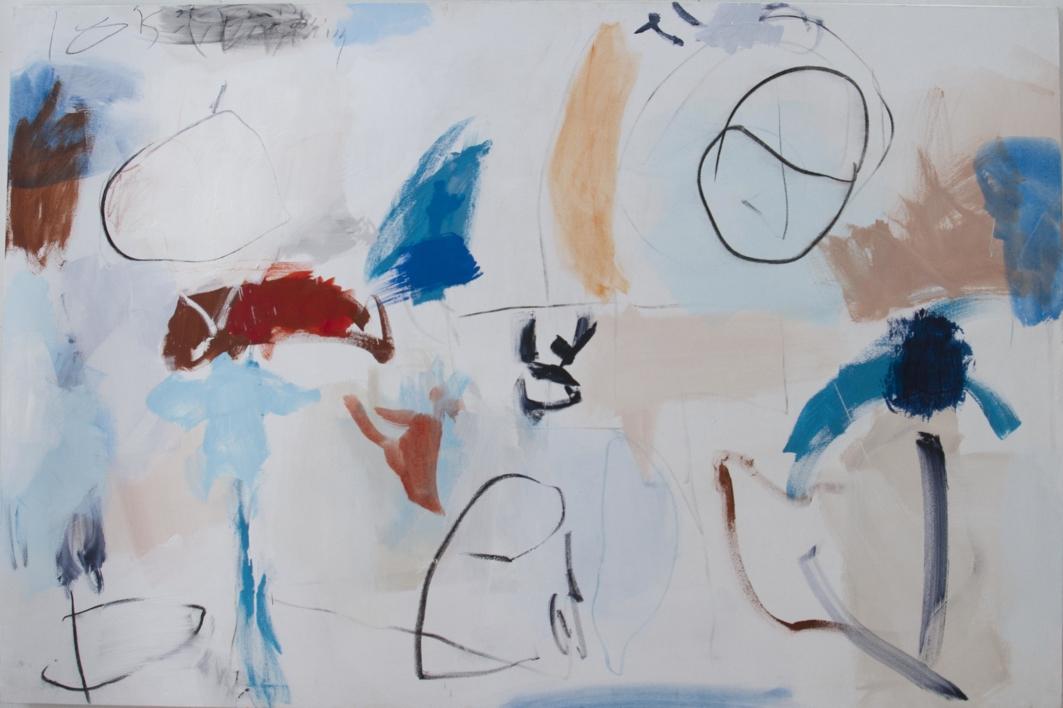 Blue breeze  Pintura de Eduardo Vega de Seoane   Compra arte en Flecha.es