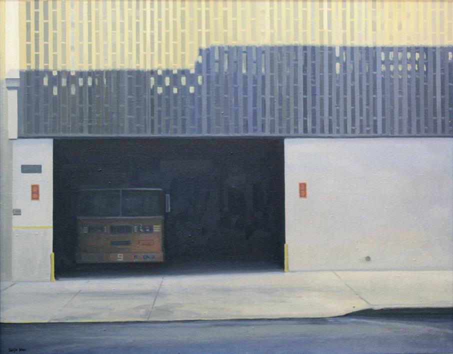 Bomberos 9 |Pintura de Borja Abós | Compra arte en Flecha.es