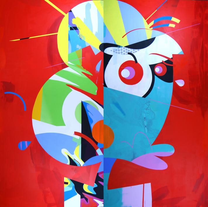 Olivia |Pintura de Jose Palacios | Compra arte en Flecha.es