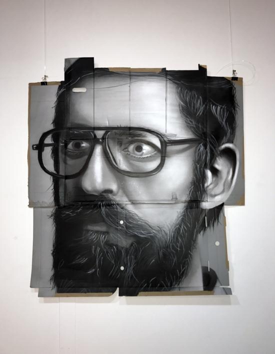 Retrato anónimo |Pintura de ASIER | Compra arte en Flecha.es