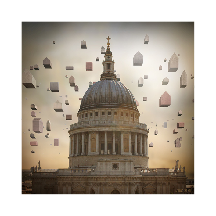 Cúpula Londres |Digital de Paco Díaz | Compra arte en Flecha.es