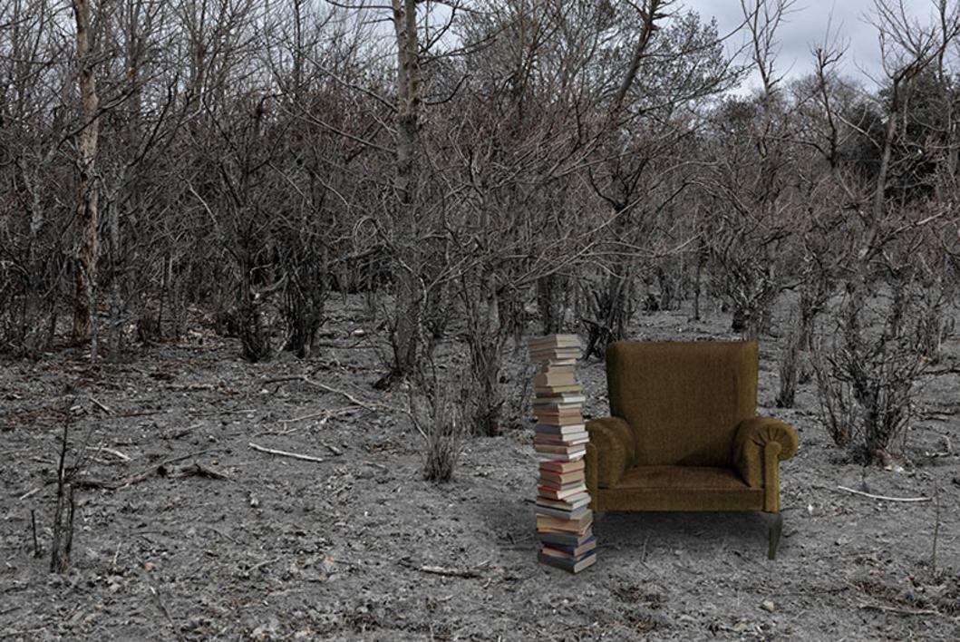 Lectura acumulada |Fotografía de Leticia Felgueroso | Compra arte en Flecha.es