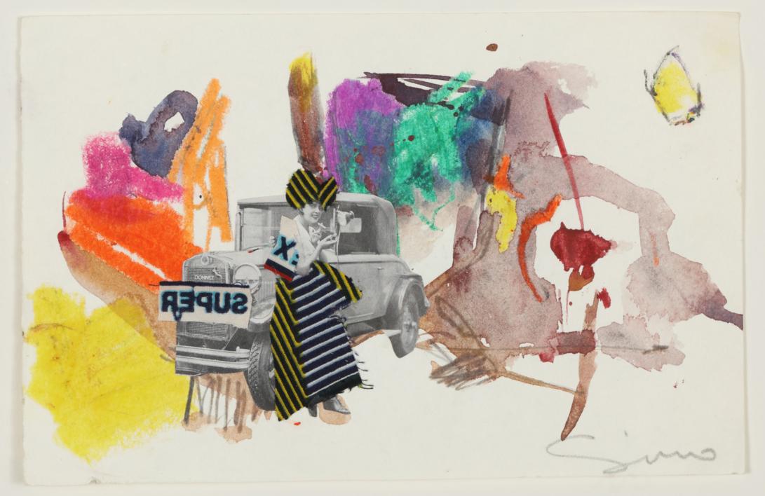 NIKUG |Collage de SINO | Compra arte en Flecha.es