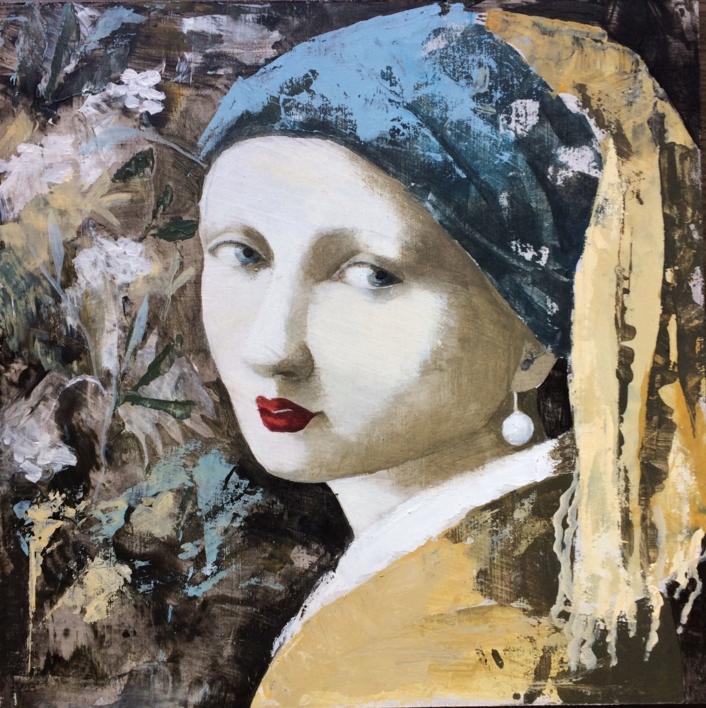 Ella III |Pintura de Menchu Uroz | Compra arte en Flecha.es