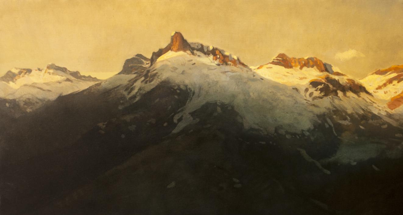 Pirineo |Pintura de Orrite | Compra arte en Flecha.es