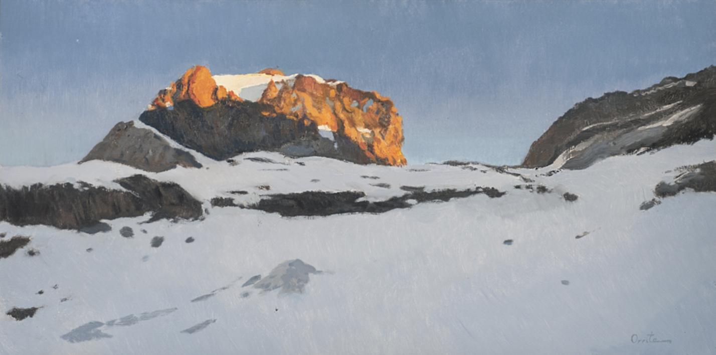 Monte Perdido |Pintura de Orrite | Compra arte en Flecha.es