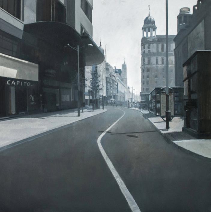 Calle Jacometrezo |Pintura de Orrite | Compra arte en Flecha.es