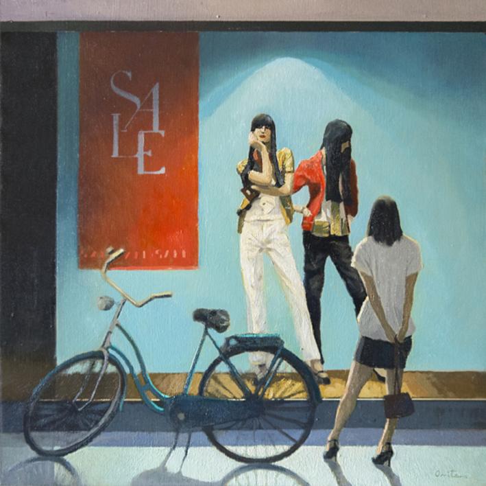 Escaparate II |Pintura de Orrite | Compra arte en Flecha.es