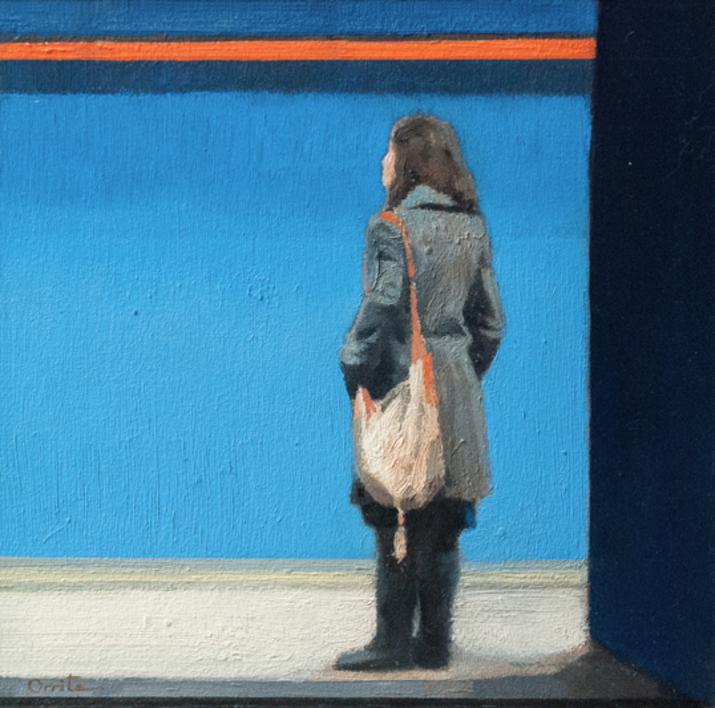 Azul |Pintura de Orrite | Compra arte en Flecha.es