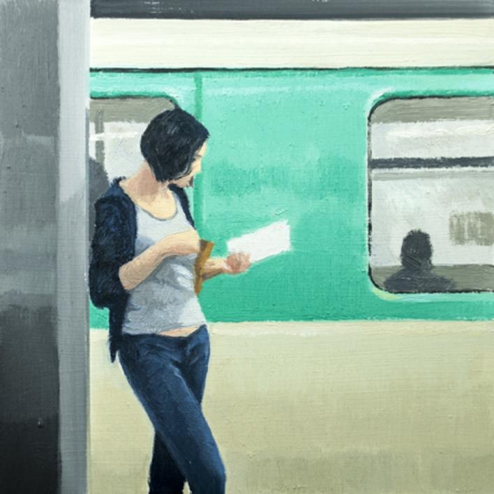 Leyendo |Pintura de Orrite | Compra arte en Flecha.es