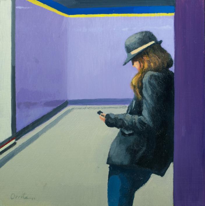 Reposo |Pintura de Orrite | Compra arte en Flecha.es