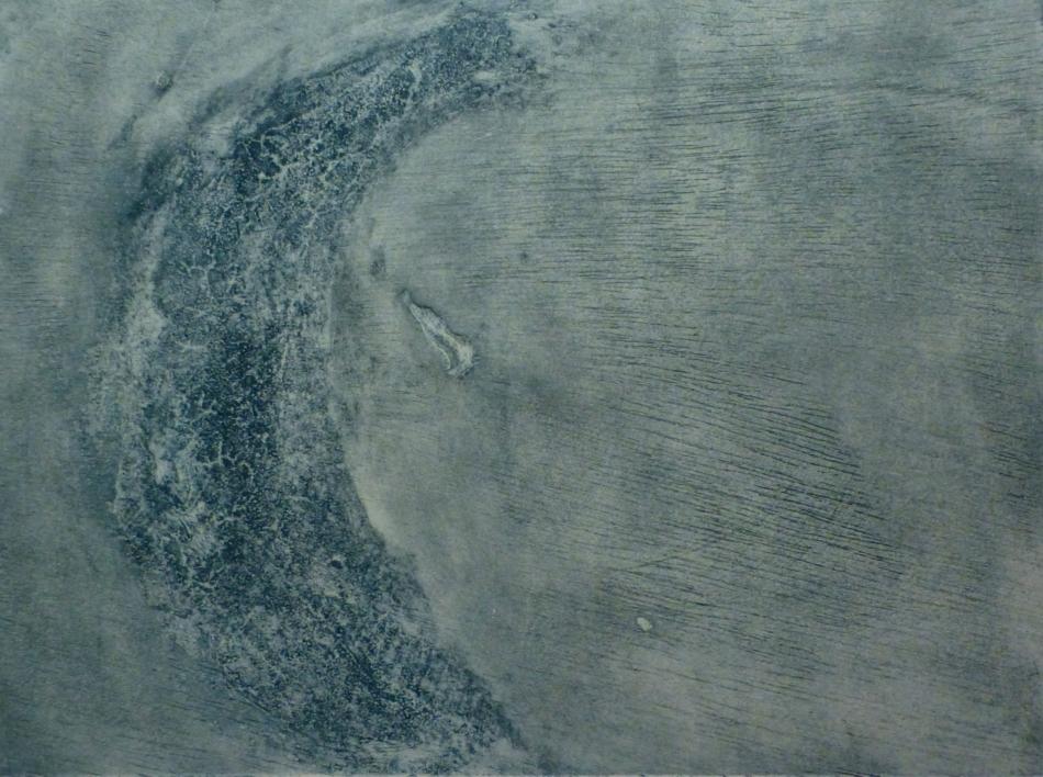 Half moon II |Obra gráfica de Arkal | Compra arte en Flecha.es