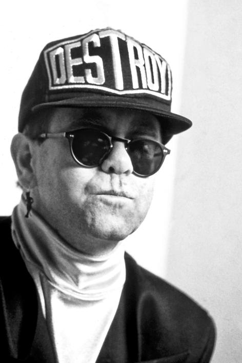 Elton John |Fotografía de Domingo J. Casas | Compra arte en Flecha.es