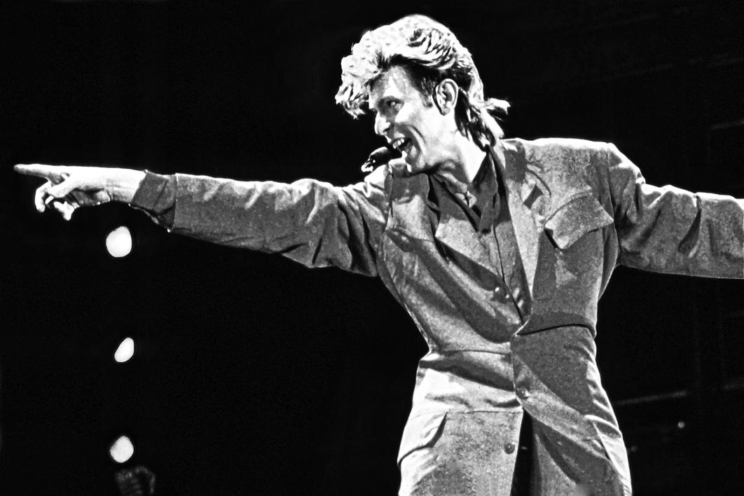 David Bowie en Concierto |Fotografía de Domingo J. Casas | Compra arte en Flecha.es