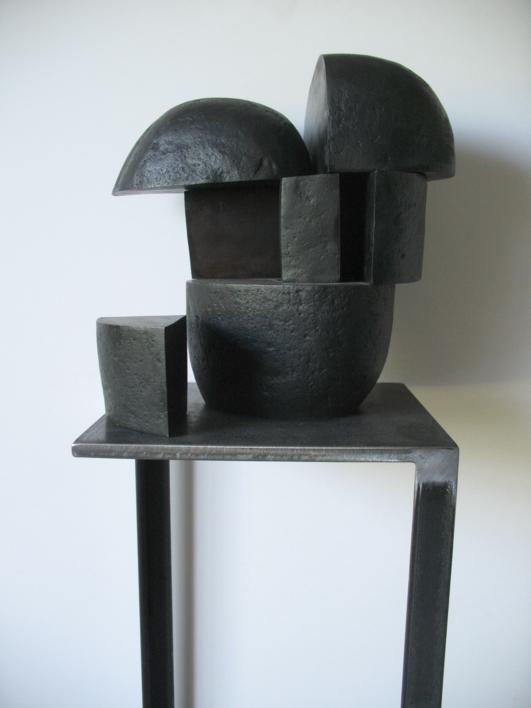 Opus 565B - Cabeza |Escultura de Alberto Bañuelos | Compra arte en Flecha.es