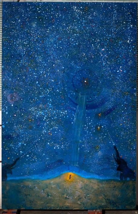 Alpha Centauri |Pintura de El Hortelano | Compra arte en Flecha.es