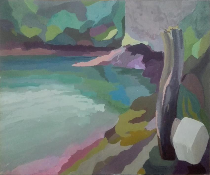 Salseiras |Pintura de Rosa Bernárdez | Compra arte en Flecha.es