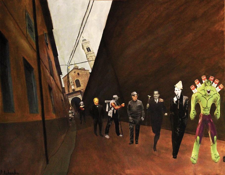 Walkers |Collage de Panos Antonopoulos | Compra arte en Flecha.es