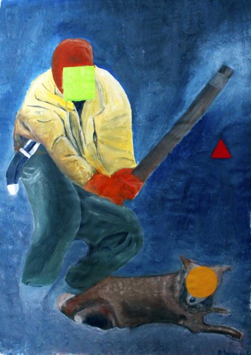 Geometrical Shapes |Pintura de Panos Antonopoulos | Compra arte en Flecha.es