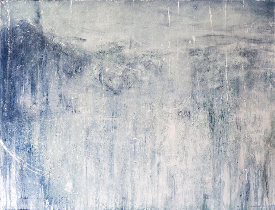 Serie: Un Lugar Helado_ Hostil Mountains  Pintura de Lucia Garcia Corrales   Compra arte en Flecha.es