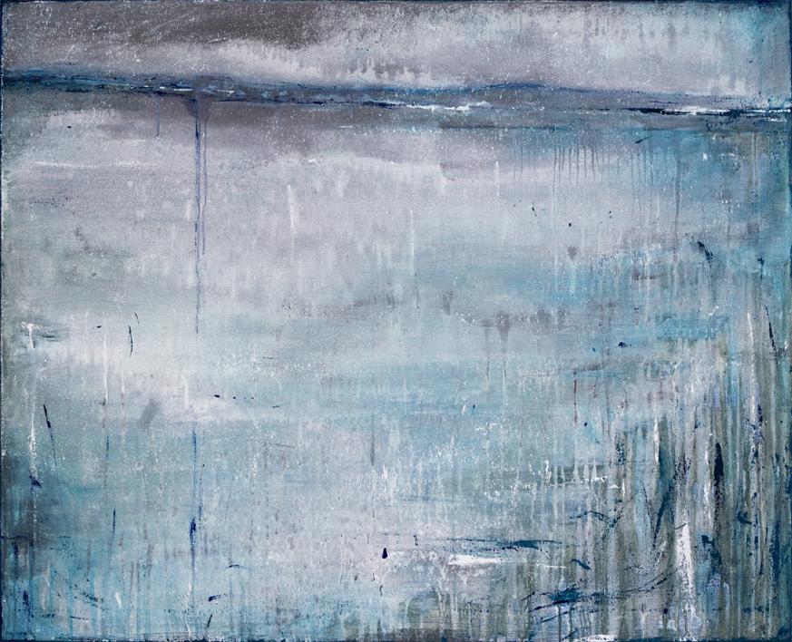 Serie: Un Lugar Helado_ A Far Away Place (vendido) |Pintura de Lucia Garcia Corrales | Compra arte en Flecha.es