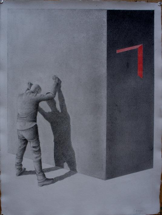 Observando 10 |Dibujo de Sonia Alonso | Compra arte en Flecha.es