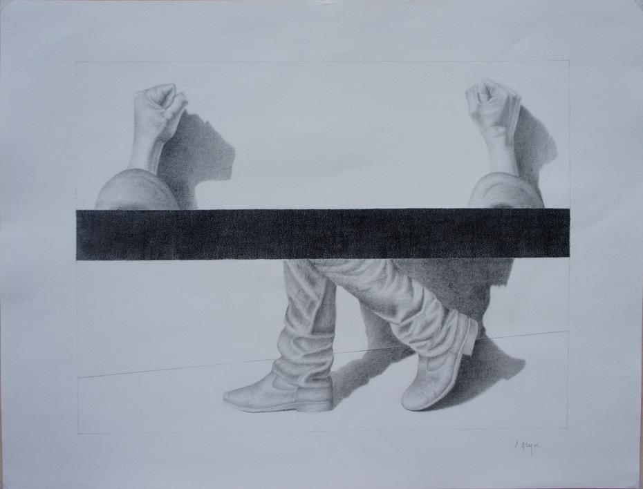 Observando 5 |Dibujo de Sonia Alonso | Compra arte en Flecha.es